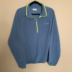 Columbia Omni-wick 3/4 Zip Fleece Pullover